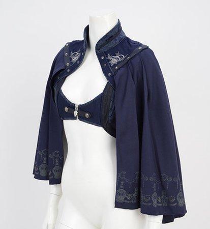 Gothic lolita shawl