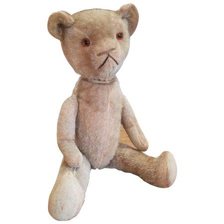 Wonderful Vintage 1920's Mohair Teddy Bear : Your-Favorite-Doll | Ruby Lane