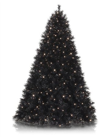black christmas tree- Google Search
