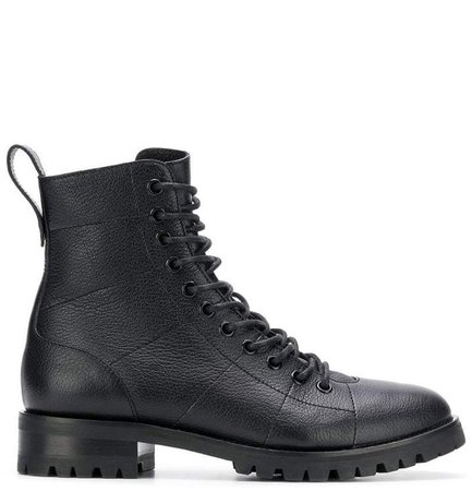 Cruz flat combat boots