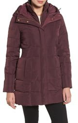 Hooded Down & Feather Jacket