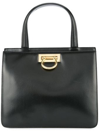 Céline Pre-Owned double compartment structured tote $1,462 - Buy VINTAGE Online - Fast Global Delivery, Price