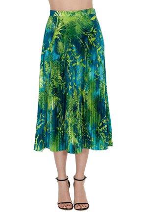 Versace Jungle Midi Skirt