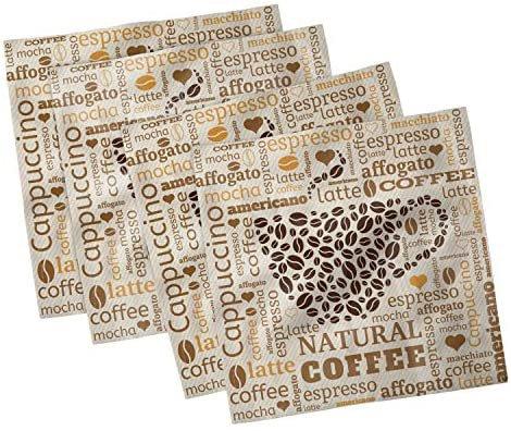 cappuccino napkins - Google Search