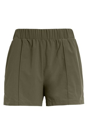 Zella Taylor Getaway High Waist Recycled Polyester Shorts | Nordstrom