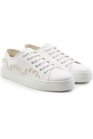 Embellished Canvas Sneakers Gr. IT 39