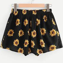 sunflower high waisted shorts black - Google Search