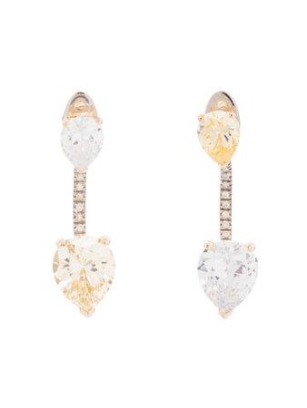 Apples & Figs Sterling Silver First Glance Earrings - Farfetch