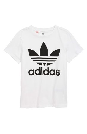 adidas Originals Trefoil Graphic T-Shirt (Big Boys) | Nordstrom