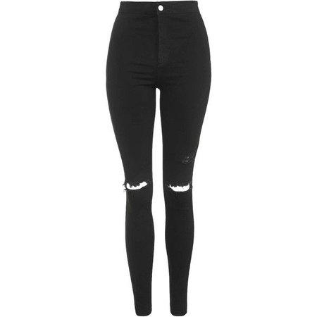 Black skinny jeans