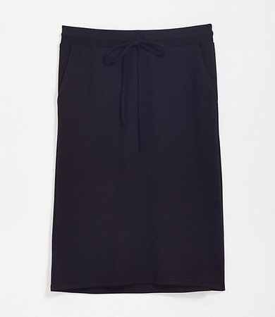 Tall Ponte Pencil Skirt