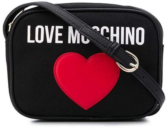 love heart shoulder bag