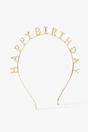 Happy Birthday Headband | Forever 21