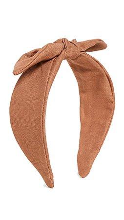 Loeffler Randall Wide Bow Knot Headband | SHOPBOP