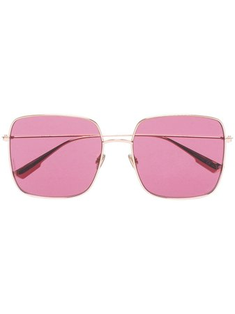 Dior Eyewear Pink DiorStellaire1 Sunglasses - Farfetch