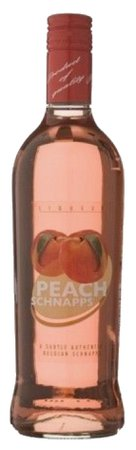Peach Shnapps Bottle