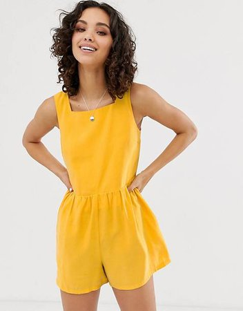 Yellow Rompers
