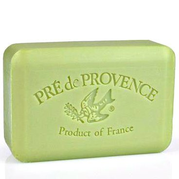 green tea soap bar (Pre de Provence)