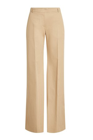 Straight Leg Cotton Pants Gr. UK 6