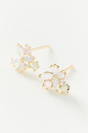 Girls Crew Butterfly Petal Post Earring | Urban Outfitters