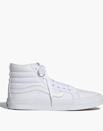 Vans Sk8-Hi Slim High-Top Sneakers in Canvas