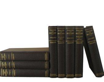 Decorative Books in Blue and Green Book Decor Decorative | Etsy