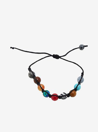 Universe Planets Cord Bracelet