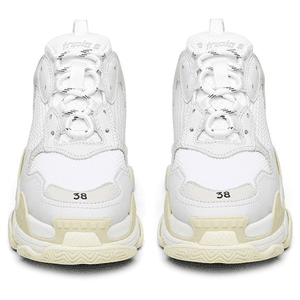 balenciaga shoe front facing