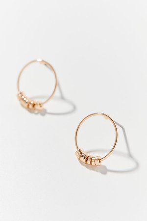Brea Hoop Post Earring   Urban Outfitters