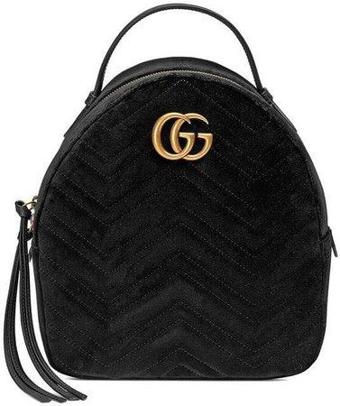 GG Marmont velvet backpack