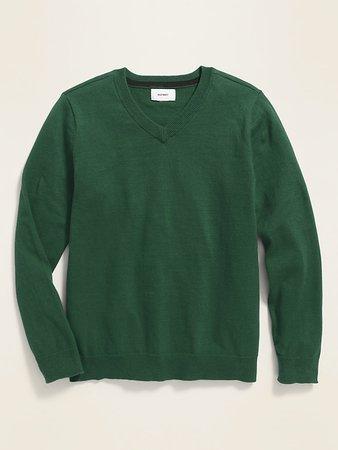 Uniform V-Neck Sweater for Boys | Old Navy