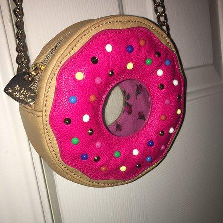Betsy Johnson donut purse