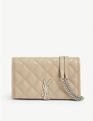 SAINT LAURENT - Kate medium leather shoulder bag | Selfridges.com