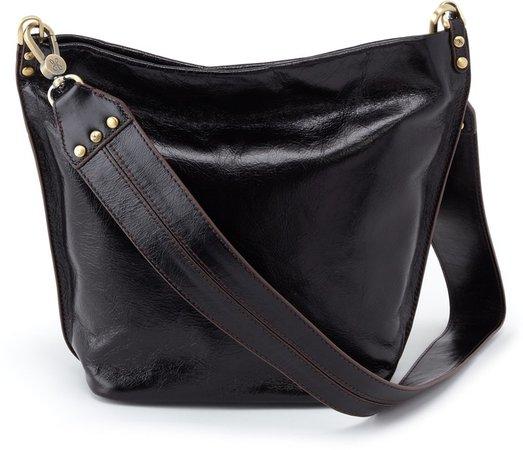 Flare Leather Bucket Bag