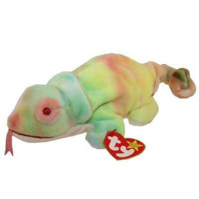 chameleon beanie baby