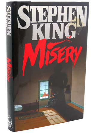 *clipped by @luci-her* MISERY by Stephen King - First Edition; First Printing - 1987 - from Rare Book Cellar (SKU: 110967)