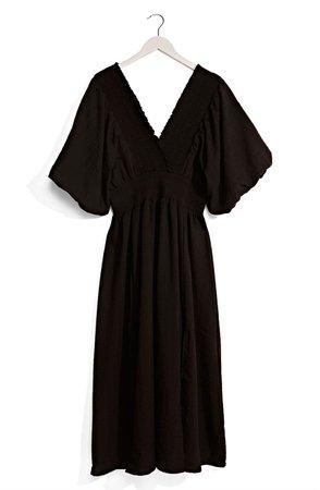 Puff Sleeve Maxi Dress | Nordstrom