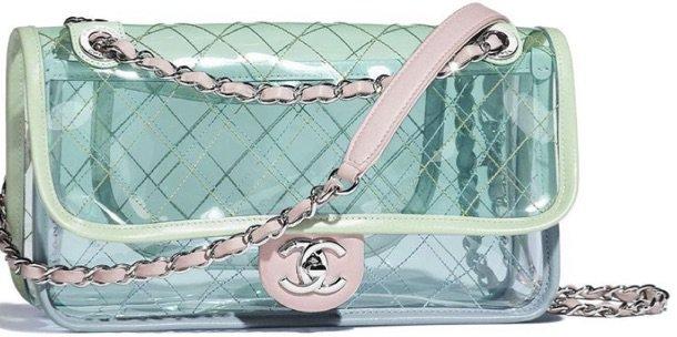 Pastel Transparent Chanel Bag