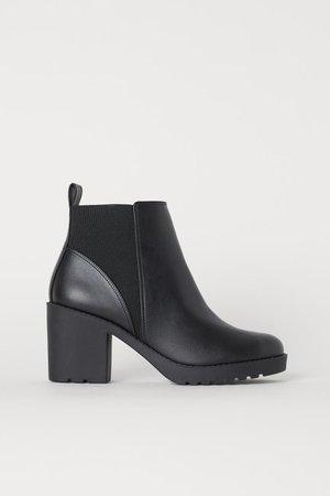 Ankle Boots - Black - Ladies   H&M US