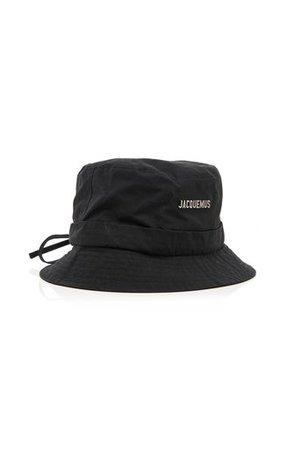 Jacquemus black bucket hat