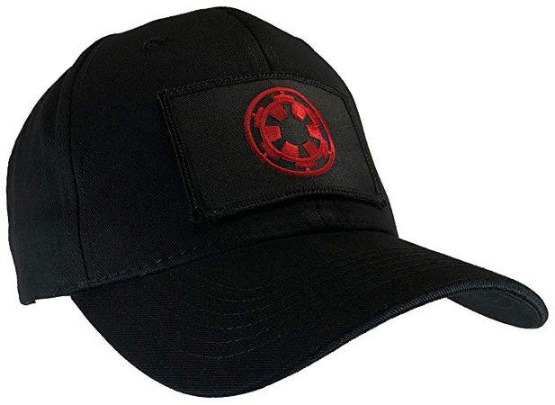 Amazon.com: Star Wars Imperial Black Ball Cap Black & Red Emblem: Clothing