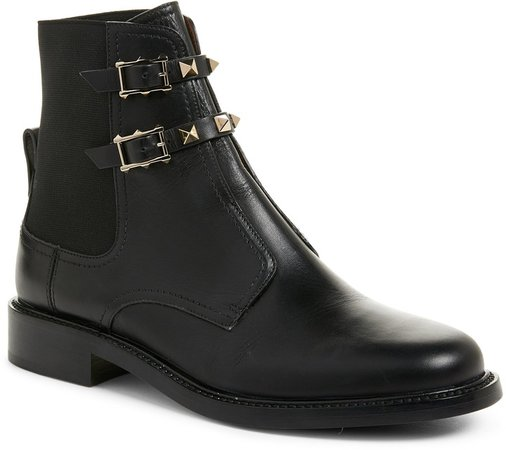 Beatle Rockstud Ankle Boot