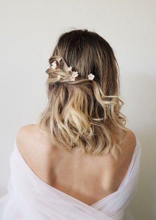 pretty hair ombre💗💛