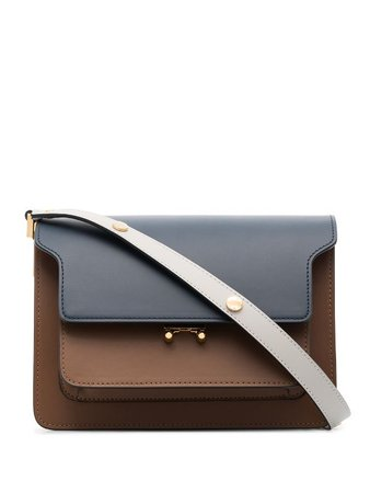 Marni Medium Trunk Leather Shoulder Bag - Farfetch