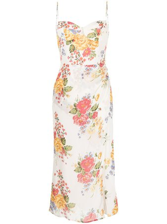 Reformation -  Kourtney floral-print dress