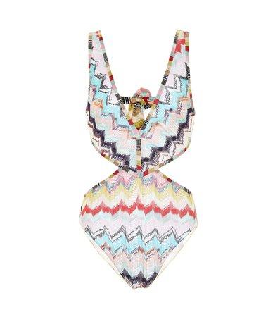 Zigzag Knit Swimsuit - Missoni Mare | Mytheresa