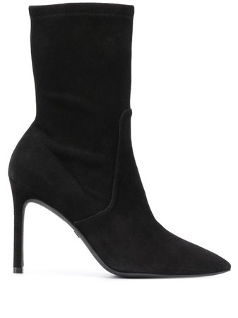 Stuart Weitzman | pointed toe 90mm ankle boots