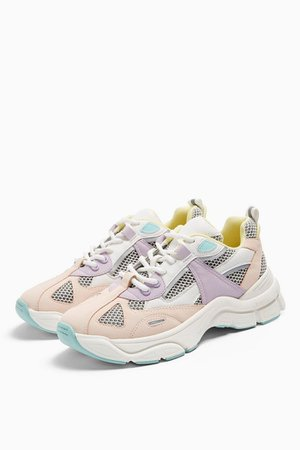 CAMBER Pink Chunky Sneakers   Topshop
