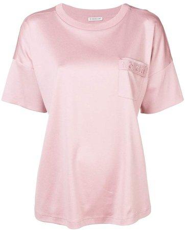 drawstring back pocket T-shirt