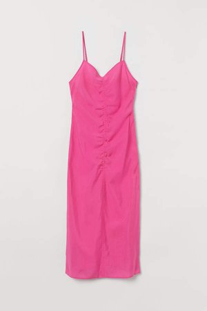 Lyocell-blend Dress - Pink